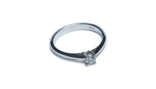 Ring ct.0,24 aus Ethical Gold Fairmined