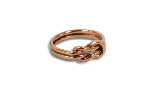 Ring aus Fairmined Rotgold
