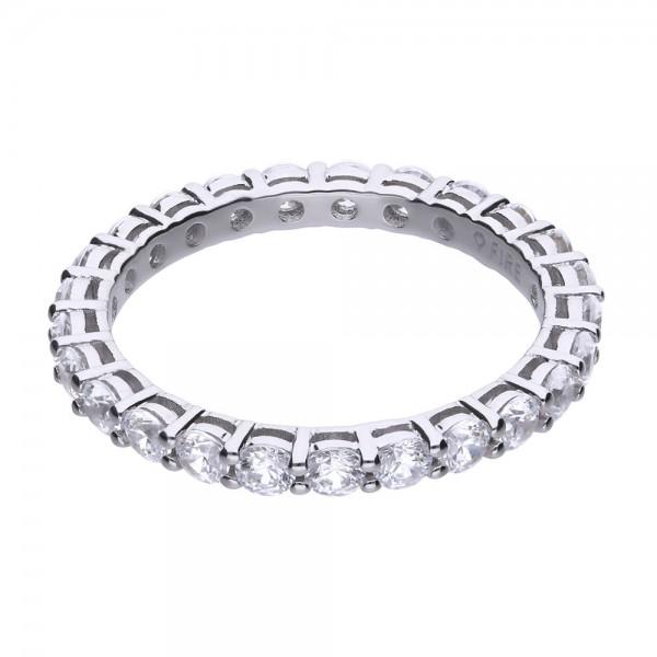 Ring aus Silber mit Zirkonia