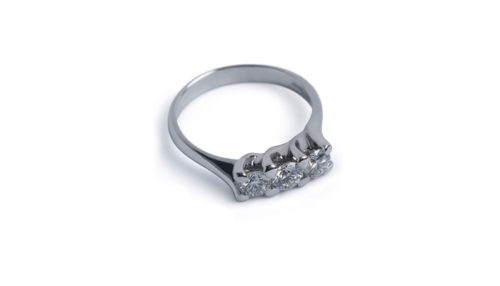 Ring Ethical Diamond tot.ct.0,24 aus Ethical Gold Fairmined